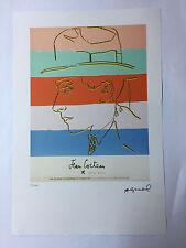 Andy Warhol Litografia 57 x 38 Arches France Timbro Secco Galleria Arte A017