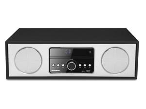Karcher DAB 4500CD Digital-Radio mit CD-Player DAB+ / UKW-RDS, Bluetooth, USB