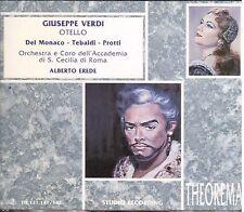 Verdi: Otello / Erede, Del Monaco, Tebaldi, Protti, Corena - CD