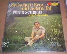 Peter Schreier ZWISCHEN BERG UND TIEFEM TAL - DG 2536 393 SEALED