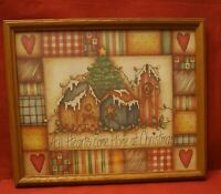 HOMCO Home Interiors All Hearts Come Home At Christmas Picture by Dianna Marcum