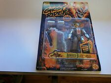Toybiz Ghost Rider Series 2 (1996) - Armored Blaze Light Up Chest MOC