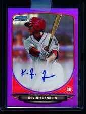 Kevin Franklin 2013 Bowman Chrome Purple Refractor Auto #/10 RC (BuyMVP)