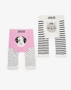 JOULES Tom Joule  Baby 2er Pack Strick-Leggings Dalmatina Gr. 3 - 24 Monate NEU