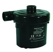 Quest 230v AC mains pump for airbeds inflatable furniture beach toys 040003