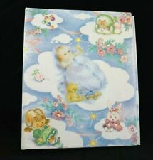 Vintage Baby Little Girl Poodle Photo Album Pictures 4x6 Bunny Teddy