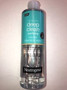 Neutrogena Deep Clean Purifying Micellar Cleansing Water 11.3oz New Free Ship