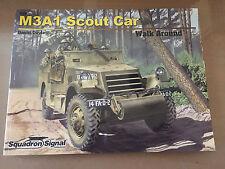 SQUADRON SIGNAL PUBLICATION 5720 - WALK AROUND COLOR - M3A1 SCOUT CAR