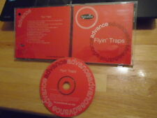 RARE PROMO Flyin' Traps CD drummers TOOL Maynard Pearl Jam Primus Flaming Lips