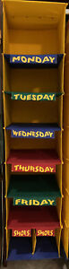 Child Closet Hanging Organizer - Days of the Week