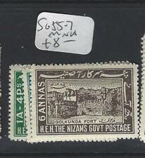 INDIA  NATIVE STATE HYDERABAD  P1306B)  SG55-7   MNH