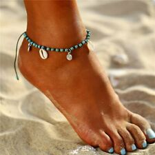 Women Turquoise Charm Anklet Ankle Bracelet Chain Sandal Beach Foot Jewellery