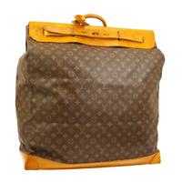 LOUIS VUITTON STEAMER 55 JUMBO TRAVEL HAND BAG PURSE MONOGRAM M41124 RK14223g
