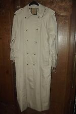 VINTAGE Trench BURBERRYS Authentique Imperméable Long
