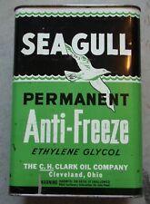 SEAGULL Anti Freeze C H Clark FULL Pop Top can Ultra Rare Gas Oil