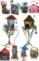 Fairy Houses Fountasia Fairy Kingdom Metal Garden Ornament Decoration Cute Gifts