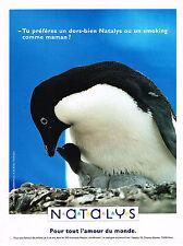 PUBLICITE ADVERTISING 084  1992  NATALYS  vetements enfants