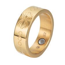 Energetix 4you 2747 Premium Vintage Magnetic Ring Gold magnetix For Life Tcm