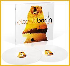 """Various Artists """"about berlin best of"""" 140g coloured Vinyl 2LP  NEU 2018"""