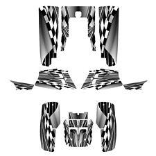 Yamaha Banshee 350 graphics full coverage decal sticker kit #2500-Metal