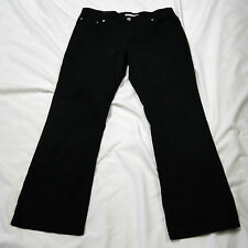 Levi's Black 550 Relaxed Boot Cut Jeans in 10S - Gently Worn!