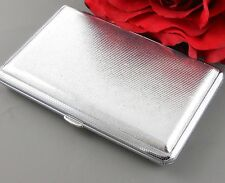 Metal Double Sided King & 100's Cigarette Case Money Holder Father Brother Gift