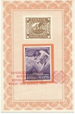 ARGENTINIEN 8.11.1950 Internationale Briefmarkenausstellung, Buenos Aires SST