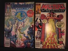 2 Star Marvel comics,#1 Visionaries Nov.1987,#3 Masters of the Universe Sept1987