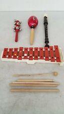 Maraca, Bell Tree, Zen-On Recorder, Xylophone +