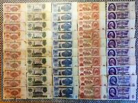 Russia USSR 1961 10 sets 1, 3, 5, 10, 25  rubles, 50 pcs. Low grade. Best price!