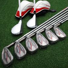 TaylorMade Golf Aeroburner Combo Hybrid/Iron Set 4H,5H 6-PW&SW Regular Flex NEW