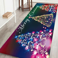 Large Christmas Mat Bath Carpet Floor Rug Home Kitchen Bathroom Decor