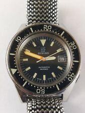 Ultra Rare Vintage Squale Marina Militare Italiana 100 Atmos Reloj de buceo
