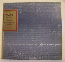 """33T BACH Disque Vinyl LP 12"""" Edouard COMMETTE Orgue Lyon Classique COLUMBIA 497"""