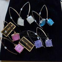 Joan Rivers Earrings Gold-Silvertone Set of 4 Simulated Opal Drop Earrings