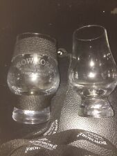 Bowmore -Whisky Nosing Tasting Glass-  on lanyard - ISLAY + 2nd taster glass