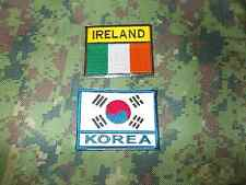 N°2 Patch KOREA ed IRLANDA NUOVI.