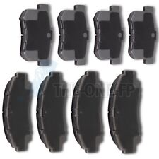 Front and Rear Ceramic Discs Brake Pads For 1999 - 06 2007 2008 Acura TL 3.2 V6