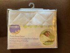 Babies R Us Plush Sheet Saver White New - Unisex - New In Package Crib Ties
