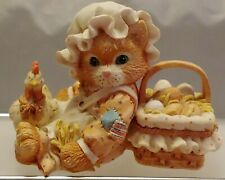"Collectible Calico Kittens ""Friendship Is The Best Blessing"" Enesco No 102679"