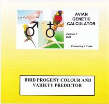 AVIAN GENETIC CALCULATOR Software