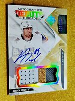 2017-2018 Alex Tuch Autographed Debut Threads /149 Rookie Auto on Card Autograph
