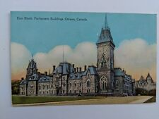 POSTCARD East Block Parliament Buildings Ottawa Canada  W-1