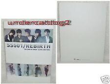 SS501 Rebirth Love Like This Taiwan Promo Folder (Clear File)