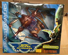 Transformers Beast Machines Nightscream Rare Brand New Unopened Box