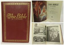 The Bible In Pictures by Rev. Ralph Kirby Hardcover Book Childrens Illustrated