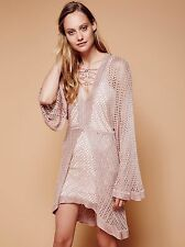 """NWT $148.00 Free People Miss Missing You Sweater Dress Sz. Small """"Elm"""""""