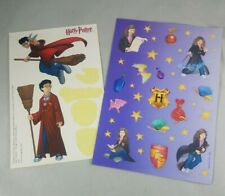 2 Vintage Harry Potter Sticker Sheets partially used