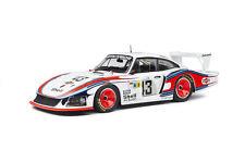 SOLIDO 1/18 Scale - Porsche 935 Moby Dick Le Mans 1978 Martini Diecast Model Car