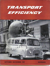 Transport Efficiency Nuffield Comm. Magazine Oct-Nov 1957 Universal Tractor +